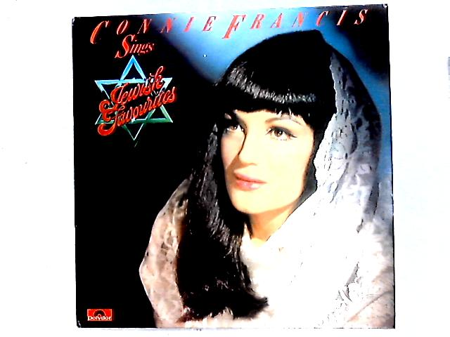 Connie Francis Sings Jewish Favorites LP by Connie Francis