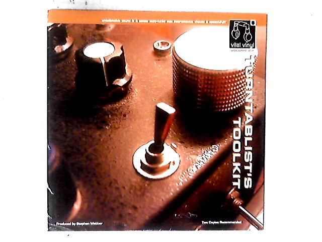 Vital Vinyl Volume Two:Turntablist's Toolkit LP By Stephen Webber