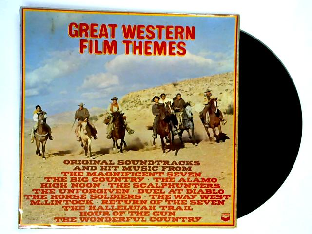 Great Western Film Themes LP 1st By Various