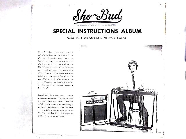Special Instruction Album (Using The E-9th Chromatic Nashville Tuning) LP by Neil Flanz