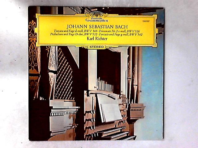 Toccata Und Fuge D-moll, BWV 565 • Triosonate Nr. 2 C-moll, BWV 526 • Präludium Und Fuge D-dur, BWV 532 • Fantasie Und Fuge G-moll, BWV 542 LP By Johann Sebastian Bach