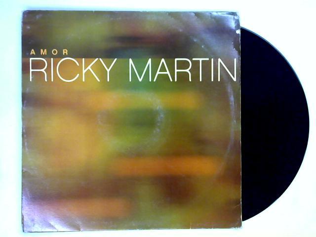 Amor 12in promo by Ricky Martin