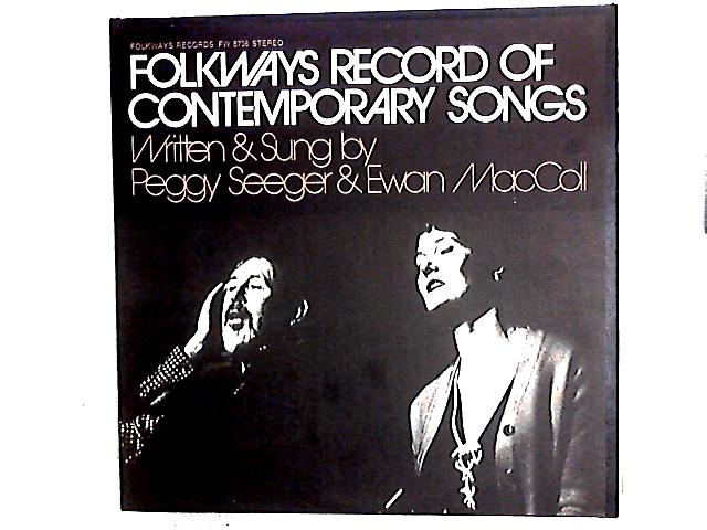 Folkways Record Of Contemporary Songs LP By Peggy Seeger