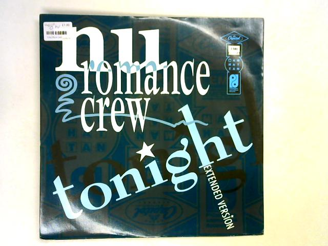 Tonight 12in 1st By Nu Romance Crew