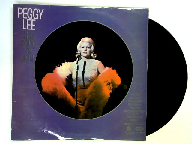 The Song Is You LP By Peggy Lee