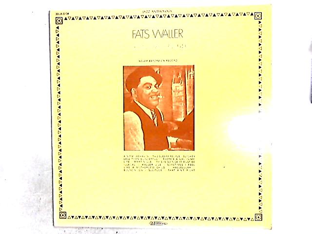 Original Sessions 1943 LP By Fats Waller