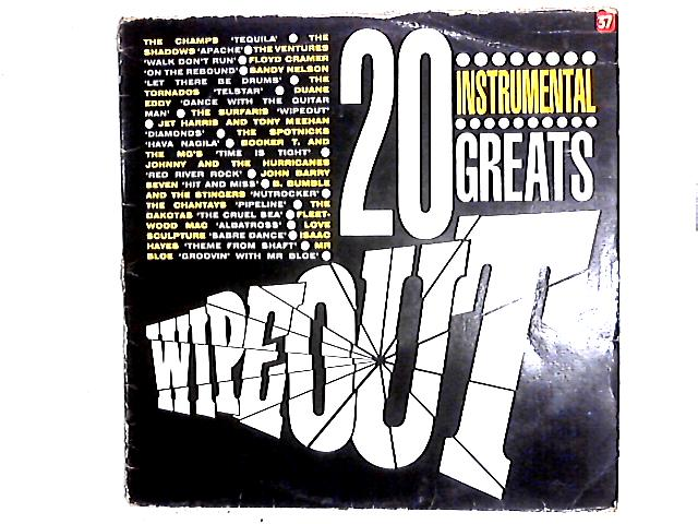 Wipeout - 20 Instrumental Greats Comp By Various