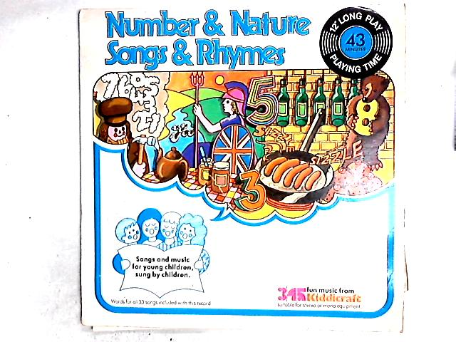 Number & Nature Songs & Rhymes LP By Children Accompanied By Eira Davies