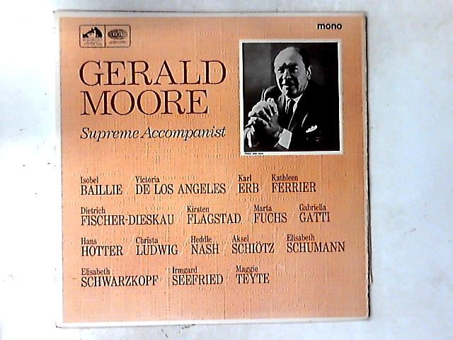 Supreme Accompanist LP By Gerald Moore