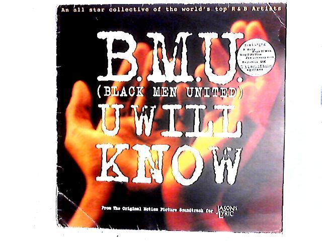 U Will Know 12in by B.M.U.