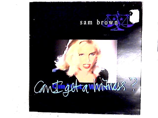 Can I Get A Witness 12in Gat By Sam Brown