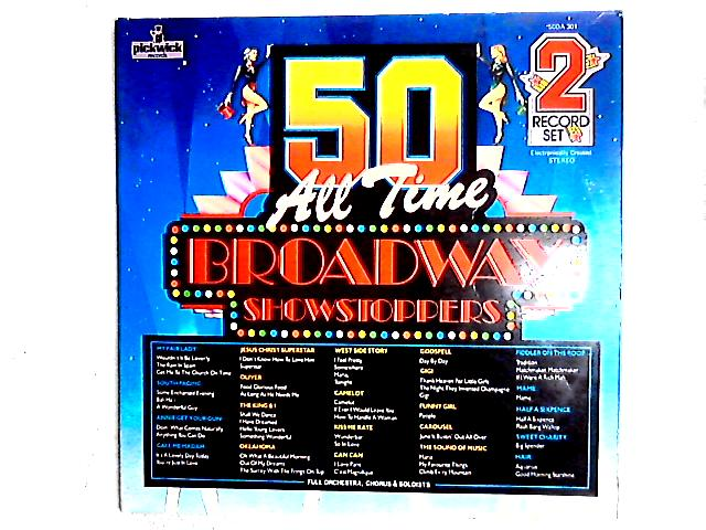 50 All Time Broadway Showstoppers 2LP Gat by Various