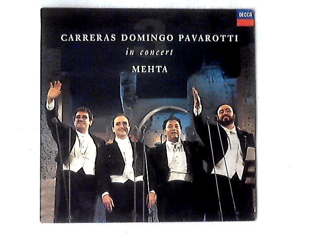 In Concert LP by José Carreras
