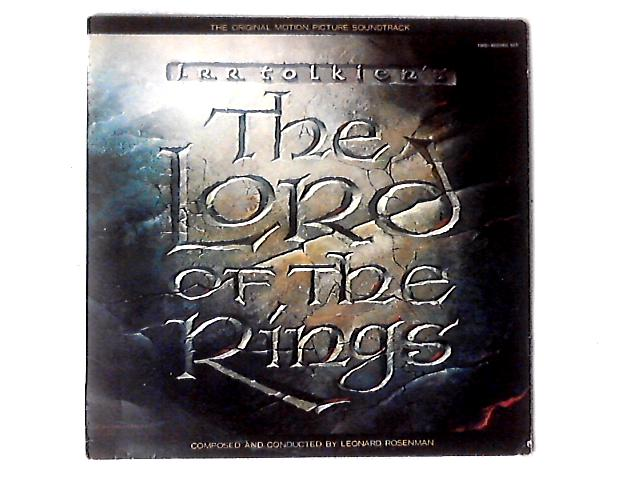 The Lord Of The Rings 2xLP by Leonard Rosenman