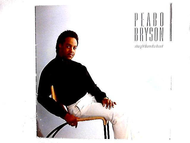 Straight From The Heart LP by Peabo Bryson