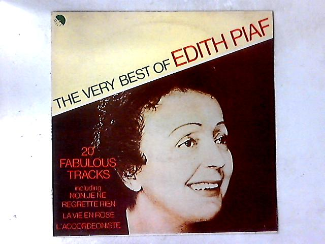 The Very Best Of Edith Piaf LP COMP by Edith Piaf