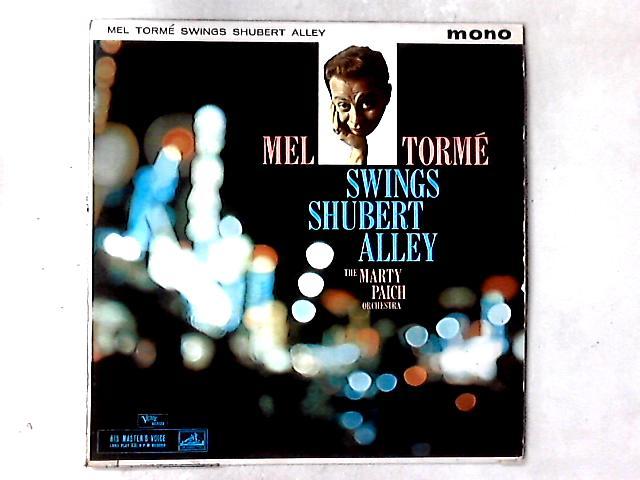 Swings Shubert Alley LP by Mel Tormé