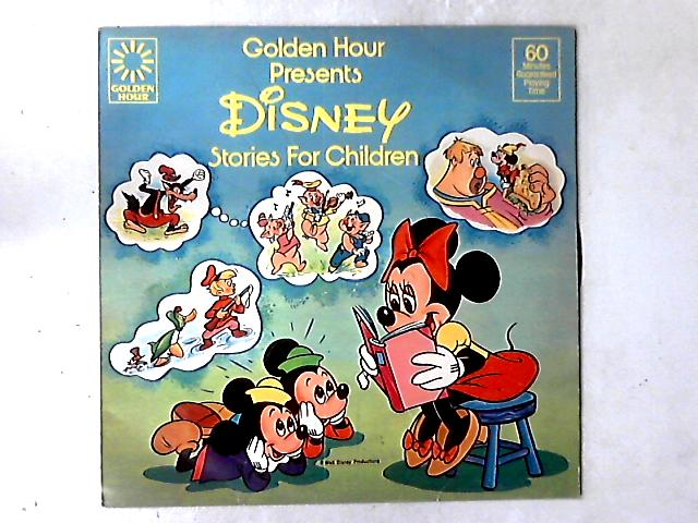 Golden Hour Presents Disney Stories For Children LP By Various