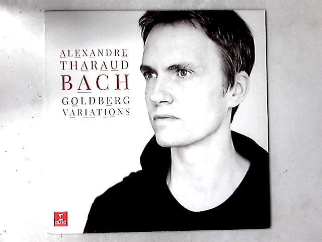 Bach Goldberg Variations LP By Alexandre Tharaud