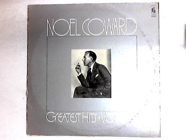 Greatest Hits Volume One Comp By Noël Coward