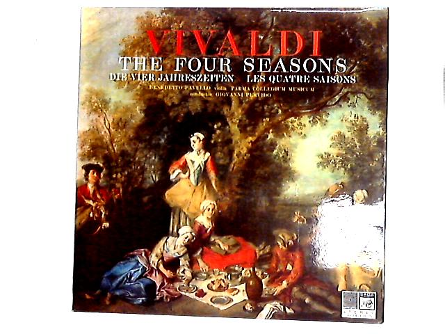 The Four Seasons - Die Vier Jahreszeiten - Les Quatre Saisons LP By Antonio Vivaldi