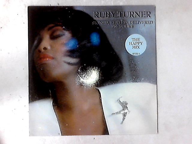 Signed, Sealed, Delivered, I'm Yours 12in By Ruby Turner