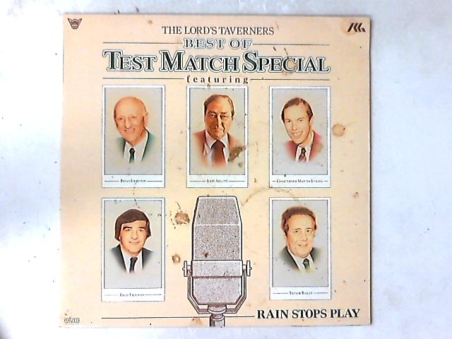 Best Of Test Match Special LP by The Lord's Taverners