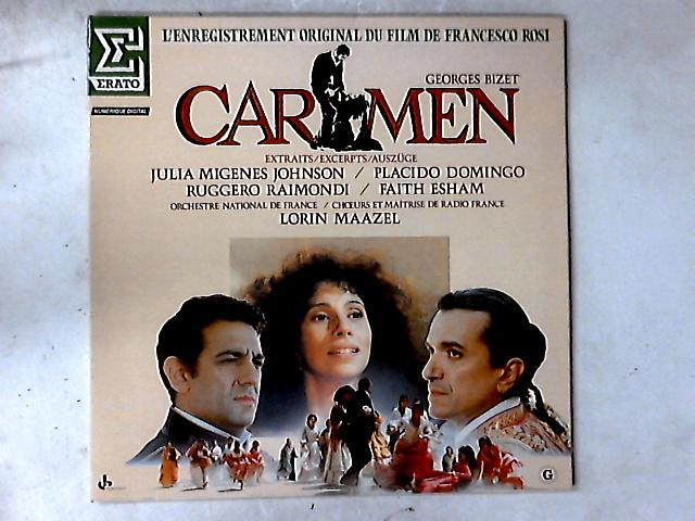 Carmen (Extraits) LP By Georges Bizet