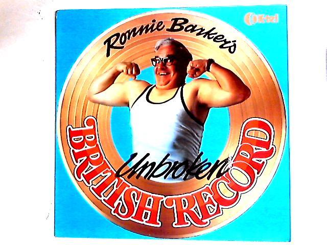 Ronnie Barker's Unbroken British Record LP By Ronnie Barker