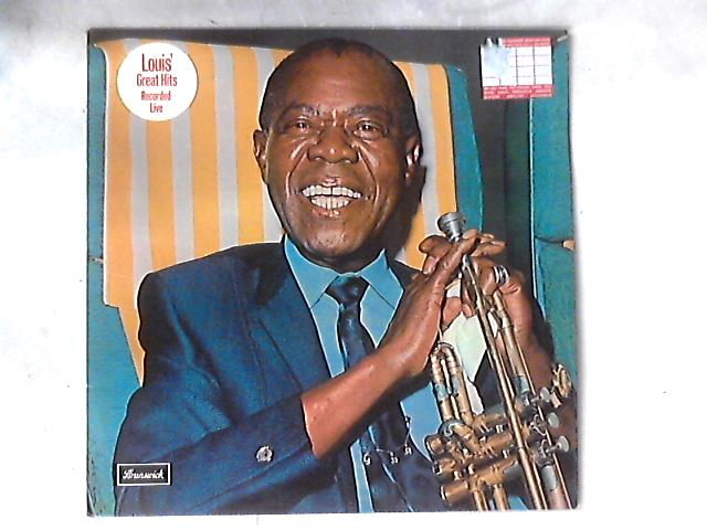 Louis' Great Hits Recorded Live LP By Louis Armstrong