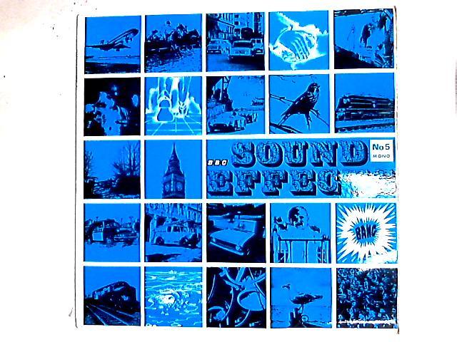 Sound Effects No. 5 LP by No Artist