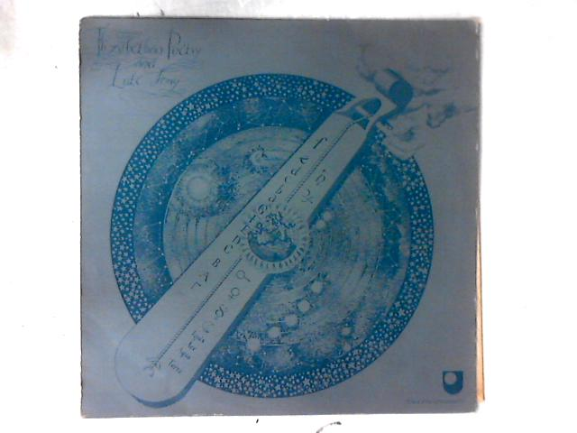Elizabethan Poetry And Lute Song LP By Various