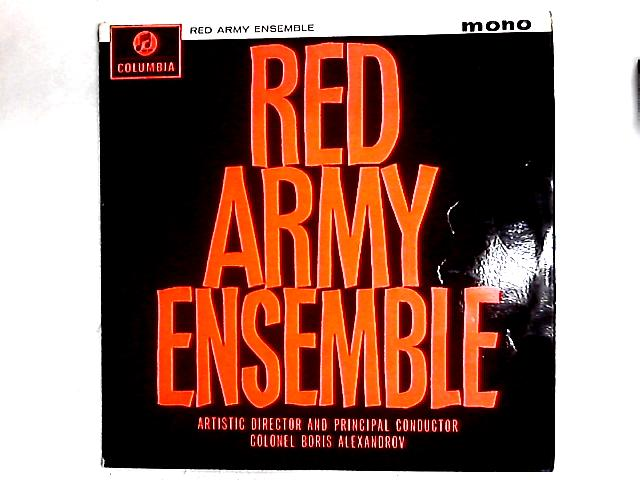 Red Army Ensemble LP by The Alexandrov Red Army Ensemble