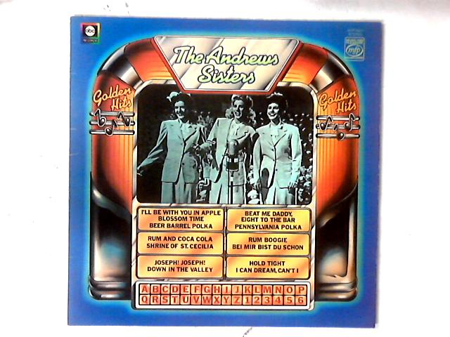 Golden Hits LP COMP By The Andrews Sisters