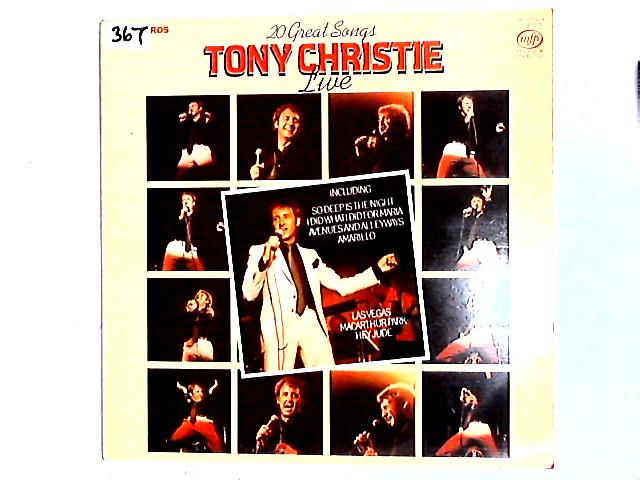 Live LP By Tony Christie