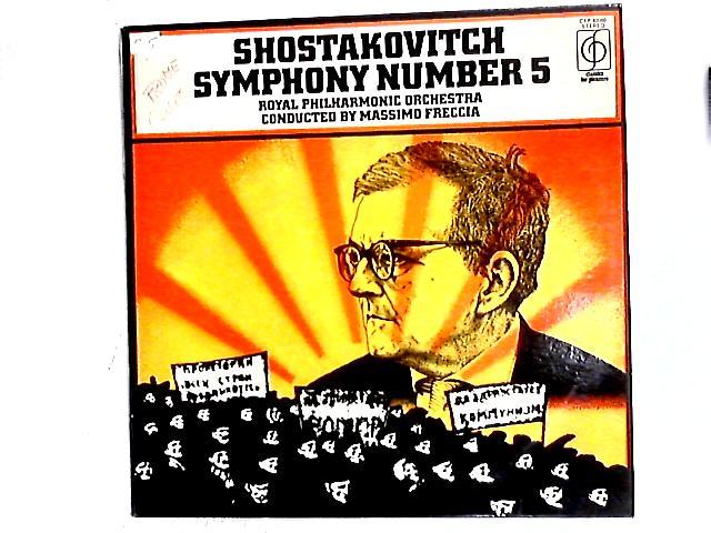 Symphony Number 5 LP By Dmitri Shostakovich
