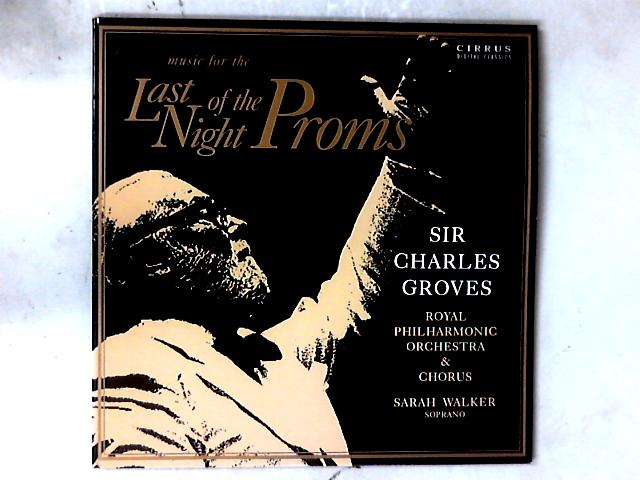 Music For The Last Night Of The Proms 2xLP By Sir Charles Groves