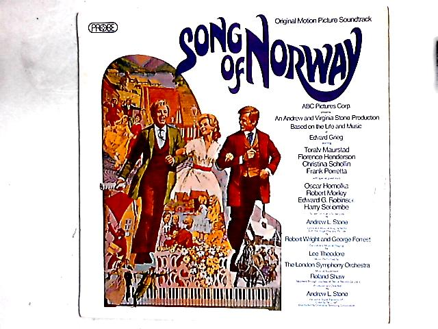 Song Of Norway - Original Motion Picture Soundtrack LP By Various