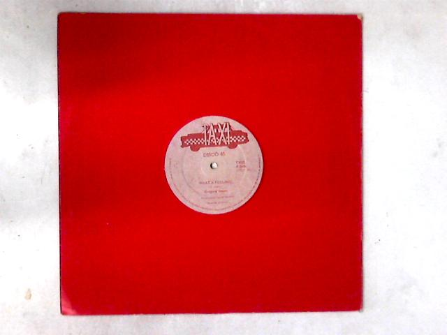 What A Feeling 12in RED LIGHT by Gregory Isaacs