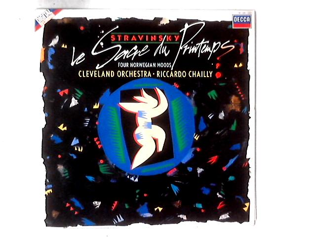 Le Sacre Du Printemps / Four Norwegian Moods LP by Igor Stravinsky