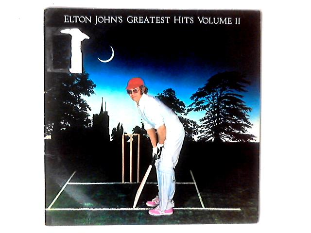 Elton John's Greatest Hits Volume II LP COMP by Elton John