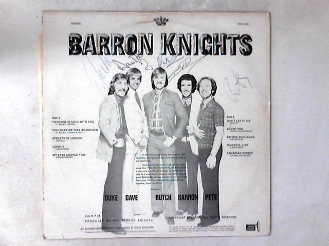 The Barron Knights LP SIGNED COPY by The Barron Knights
