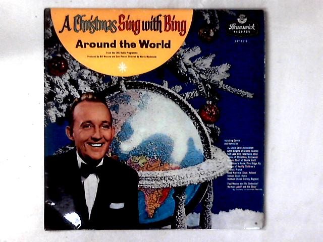 A Christmas Sing With Bing Around The World LP by Bing Crosby