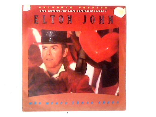 Who Wears These Shoes 12in By Elton John