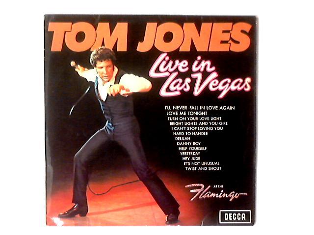 Live In Las Vegas LP By Tom Jones