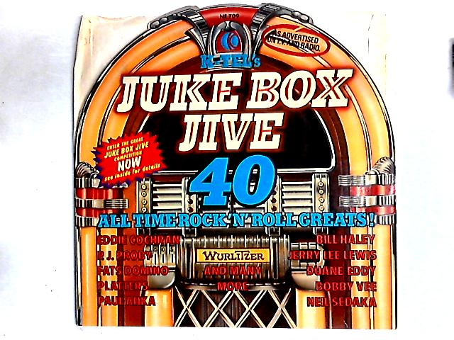 Jukebox Jive 40 - All Time Rock'N'Roll Greats! 2LP Comp By Various