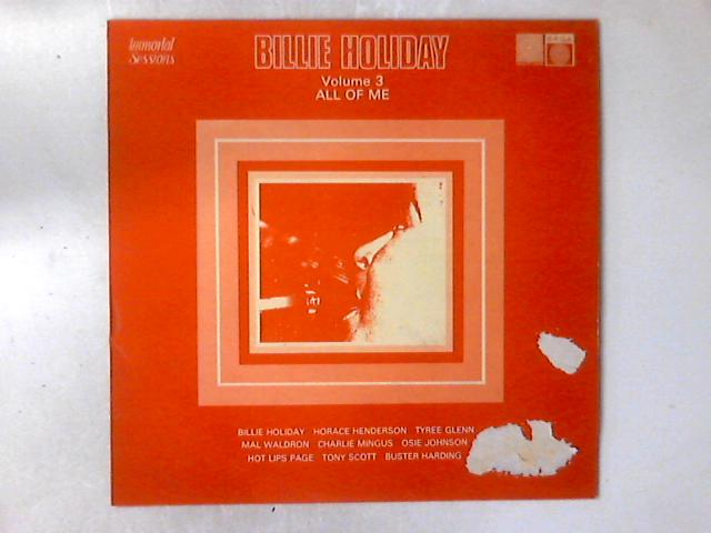 Volume 3, All Of Me LP COMP By Billie Holiday