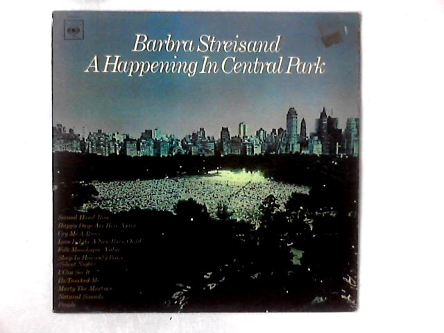 A Happening In Central Park LP By Barbra Streisand