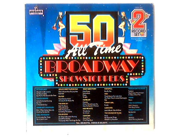 50 All Time Broadway Showstoppers 2xLP COMP By Various