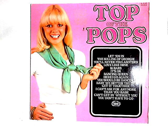 Top Of The Pops Volume 54 LP By The Top Of The Poppers